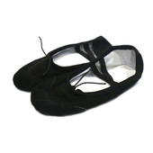 Балетки для девочки текстильные Arrix 27(р) черный 101