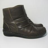 Легкие ботинки Clarks 39,5р 25,5см Кожа