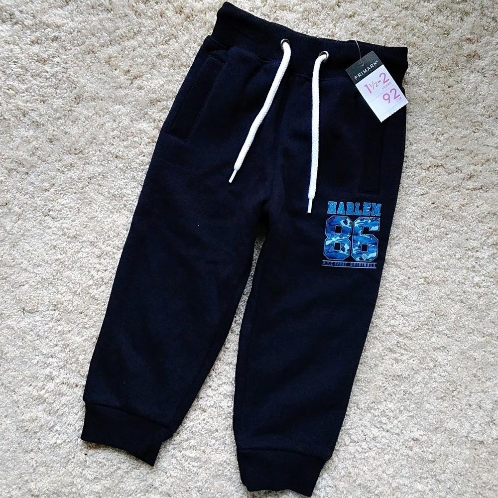 Спортивные штаны джоггеры primark (утепленные) фото №1