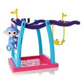 WowWee Fingerlings Интерактивная ручная обезьянка с детской площадкой 3731 liv baby monkey playgroun