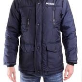 Мужская куртка синего цвета