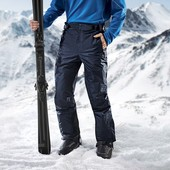 Зимние лыжные термо брюки на тинсулейте штаны Crivit Thinsulate.