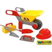 Набор тачка с инструментами Wader 50229
