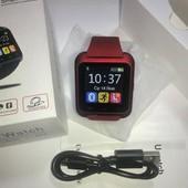 Наручные электронные часы Smart watch U80 (умные смарт часы)