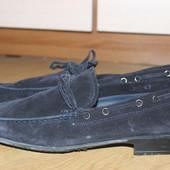 Стильні замшеві туфли топсайдери brian cress