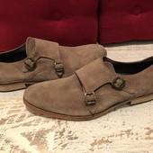 Туфлі із натуральної замші,від Oxmox,розмір 44,стелька 30 см