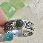 Кольцо серебряное 1038
