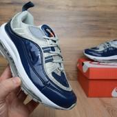 Кроссовки Nike Air Max 98 Supreme blue/gray