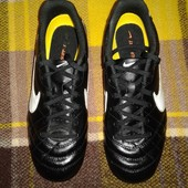Футбольные бутсы (копы) Nike Тiempo. 38 размер.