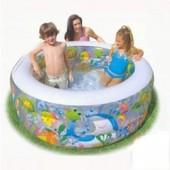 Бассейн детский надувной Аквариум Intex 58480