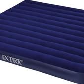 Двухместный надувной матрас Intex 68755, Ширина 183 см