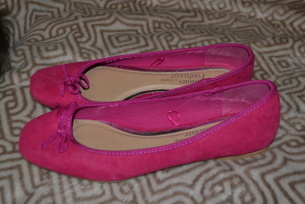 Новые туфли балетки george 27  см 41- 42 размер англия фото №1