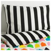 Комплект постельного белья, разноцветный, 150x200/50x60см 703.323.36 Hemlängtan Хемлэнгтан Икеа Ikea