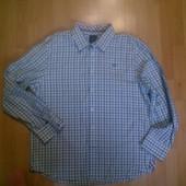 Фирменная хлоковая рубашка XXL