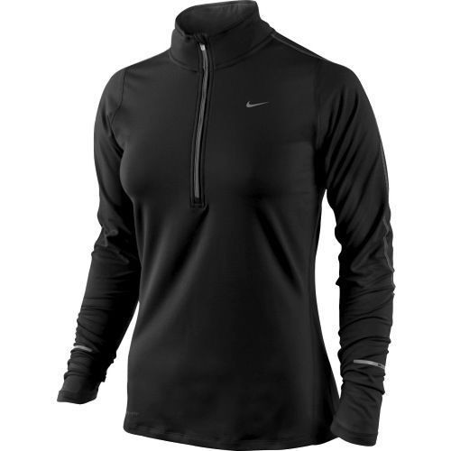 Nike women's element half zip running shirt dri-fit 602677 фото №1