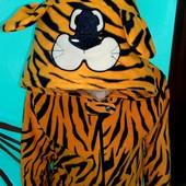 Слип,пижама Primark флис Тигр на 9-10лет(134-140см)!