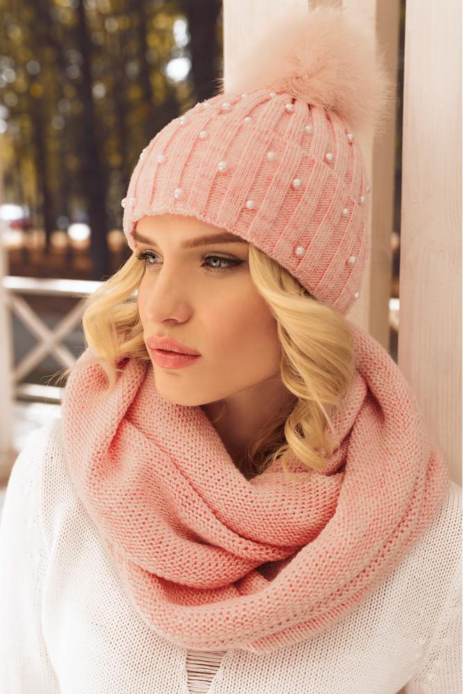 Женская шапка фото №1