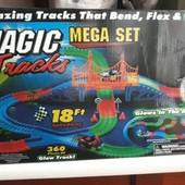 360 деталей +2 машинки  Меджик трек Magic Tracks! 5.3 метра