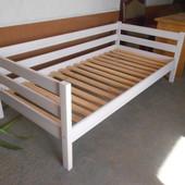 Кровать дерево Нотка 90*190