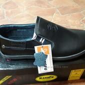 Чоловічі шкіряні туфлі Kangfu 40-45