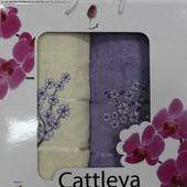 Набор полотенец Cattleya банное и лицевое