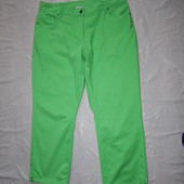 5хL, поб 58-60, позитив! укороченные джинсы скинни Gina Benotti