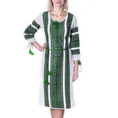 Вишиванка.Вишита сукня