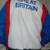 Фирменная мастерка  кофта олимпийка спортивная оригинал Bourne England.л-хл