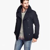 Фирменное мужское пальто H&M, размер L
