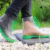 Силиконовые ботиночки. Польша. 37 размер.