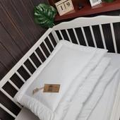 Одеяло в кроватку + в подарок подушка