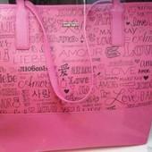 Стильная женская сумка мери кей mary kay с принтом love, amour, новинка