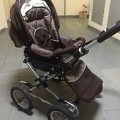 Шикарная коляска Emmaljunga 2а1 в хорошем состоянии