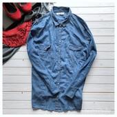 Джинсовая рубашка Clockhouse р-р Ххл