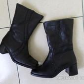 шкіряні зимові чоботи 24см