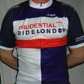 Стильная спортивная велофутболка бренд Dhb.Британия . .м-л .