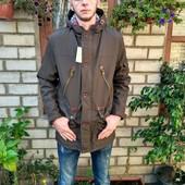 Молодежная демисезонная куртка парка 44-52 р.