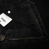 Мужские джинсы черные стрейч Asos M 30/32