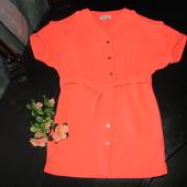 шикарное стильное платье-рубашка River Island 4 года (можно до 5 лет) как новое