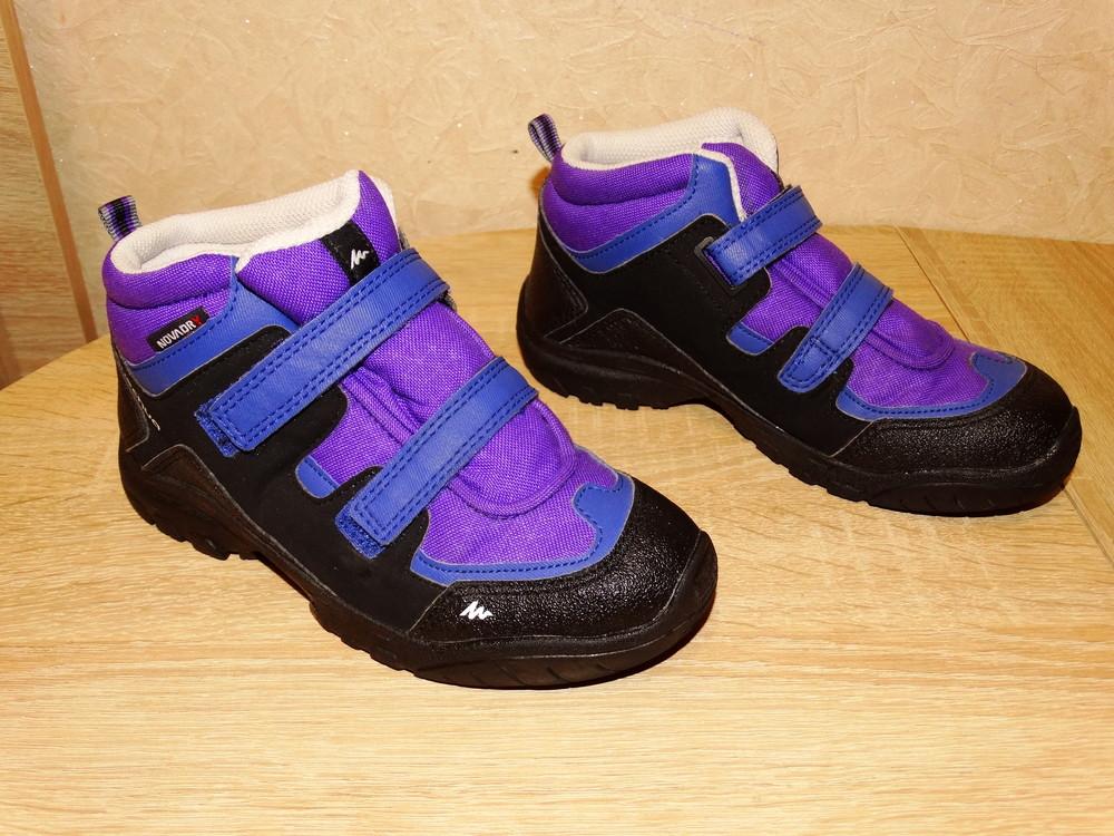 Р.32 треккинговые ботинки quechua , 20,5 см. по стельке фото №1