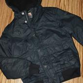 Демисезонная мужская теплая куртка размер м