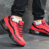 Зимние мужские кроссовки Nike 95 red