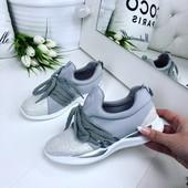 Супер кроссы серый+серебро, легкие!