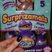 Мягкая игрушка-сюрприз в шаре Surprizamals 5 сезон