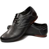 Мужские классические туфли - Эко Кожа (М-03ч)
