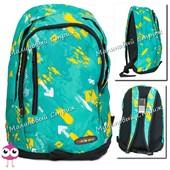 Школьный рюкзак для подостков, городской рюкзак, 3 отделения, боковые карманы
