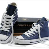 Кеды Синие Высокие Converse All Star конверс конверсы размеры 35 - 45