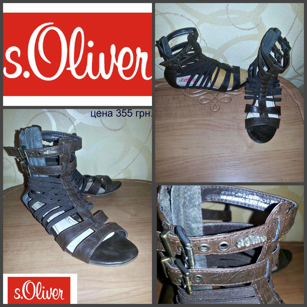 S.oliver, оригинал, нат. кожа, новые , сток.!!! фото №1