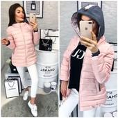 Женская курточка с капюшоном