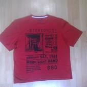 Фирменная футболка L